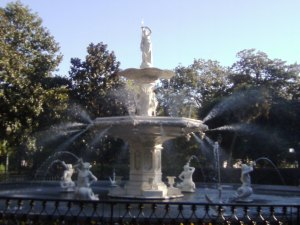 Forsyth Park — fountain