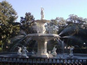 Forsyth Park — fountain